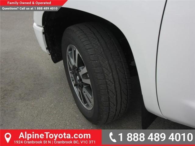 2018 Toyota Tundra SR5 Plus 5.7L V8 (Stk: X769277) in Cranbrook - Image 17 of 17