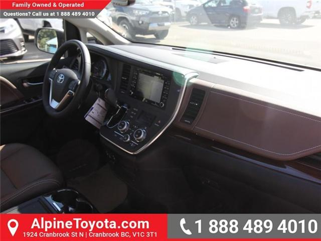 2018 Toyota Sienna XLE 7-Passenger (Stk: S200947) in Cranbrook - Image 11 of 19