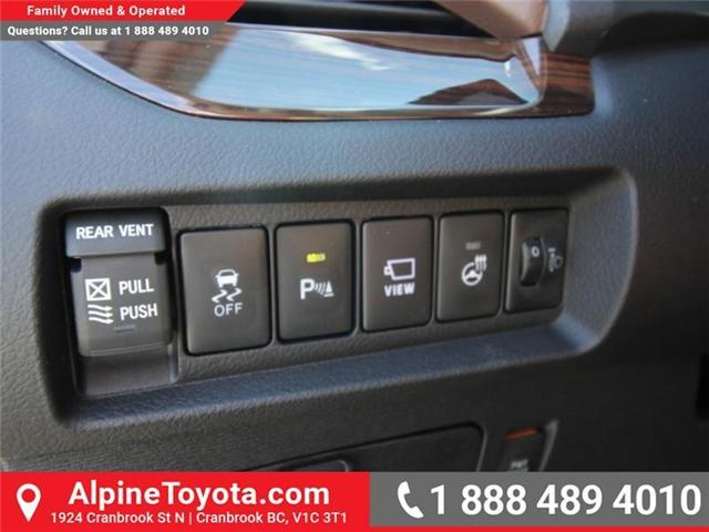 2018 Toyota Sienna XLE 7-Passenger (Stk: S200947) in Cranbrook - Image 16 of 19