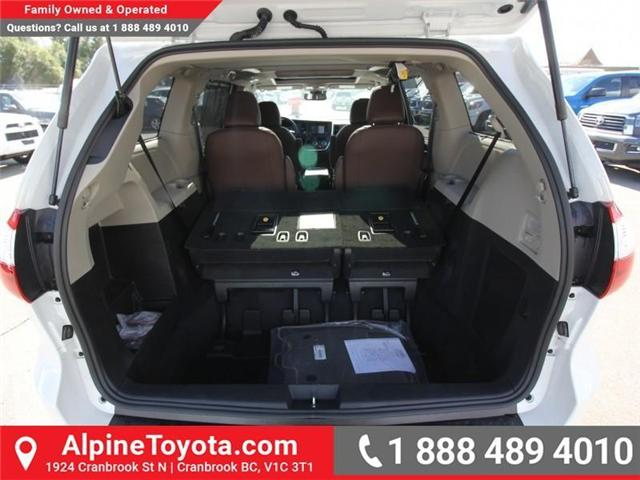 2018 Toyota Sienna XLE 7-Passenger (Stk: S200947) in Cranbrook - Image 17 of 19