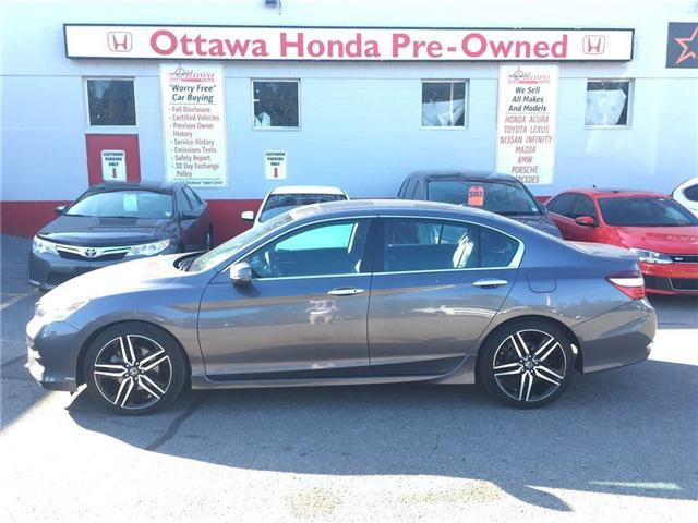 2017 Honda Accord Touring (Stk: H7644-0) in Ottawa - Image 1 of 21