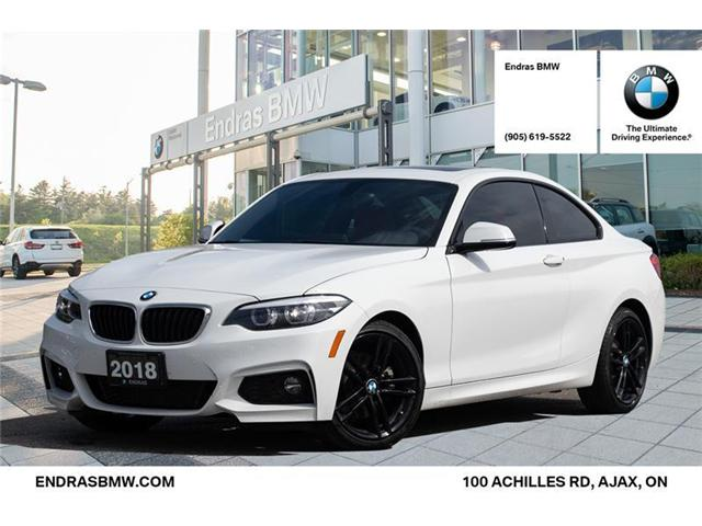 2018 BMW 230 i xDrive (Stk: P5587) in Ajax - Image 1 of 20