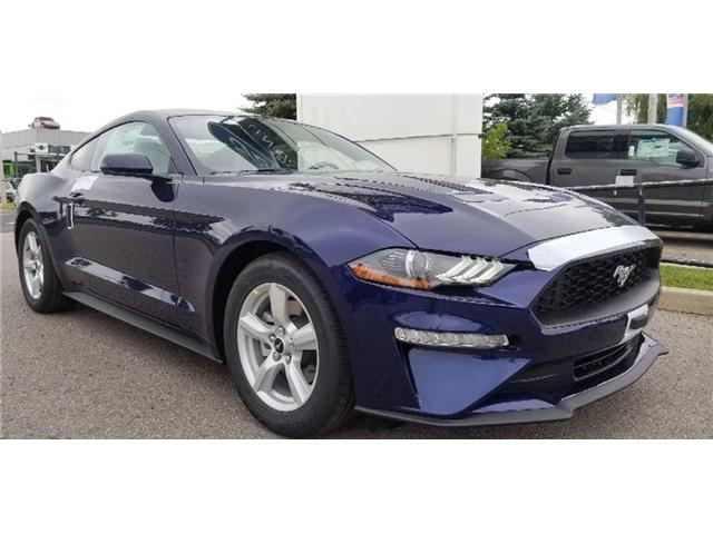2019 Ford Mustang EcoBoost (Stk: 19MU0037) in Unionville - Image 1 of 12