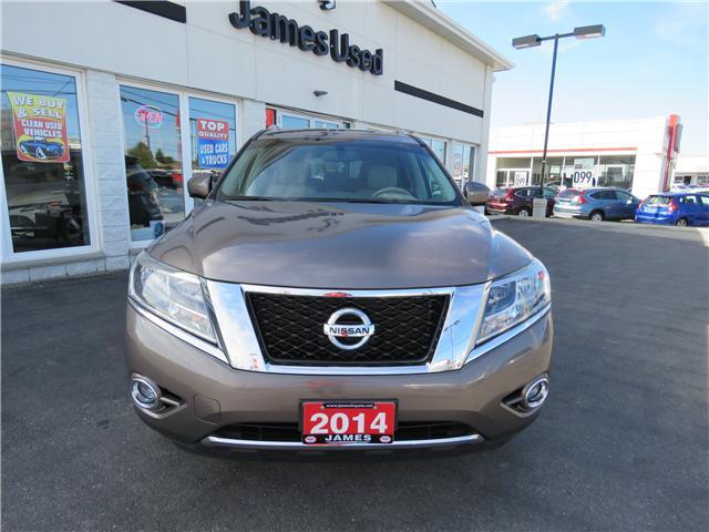2014 Nissan Pathfinder Platinum (Stk: N18218A) in Timmins - Image 2 of 9