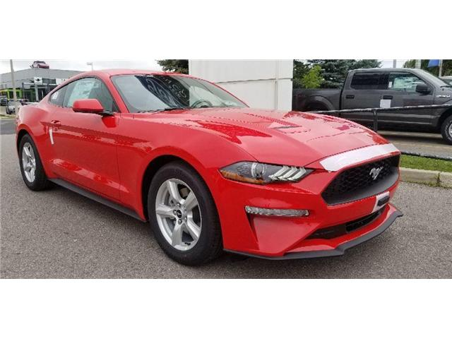 2019 Ford Mustang EcoBoost (Stk: 19MU0035) in Unionville - Image 1 of 12