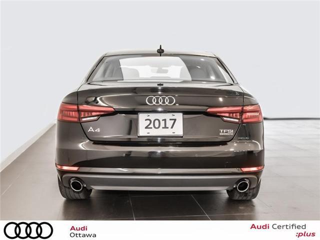 2017 Audi A4 2.0T Progressiv (Stk: PA461HT) in Ottawa - Image 4 of 22