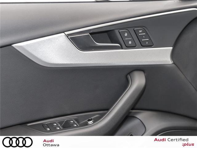 2017 Audi A4 2.0T Progressiv (Stk: PA461HT) in Ottawa - Image 13 of 22
