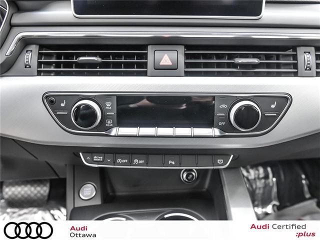 2017 Audi A4 2.0T Progressiv (Stk: PA461HT) in Ottawa - Image 21 of 22