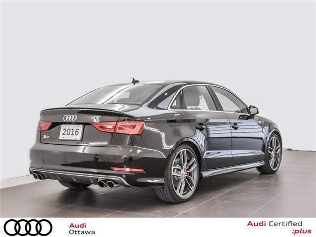 2016 Audi S3 2.0T Technik (Stk: PA465) in Ottawa - Image 3 of 22