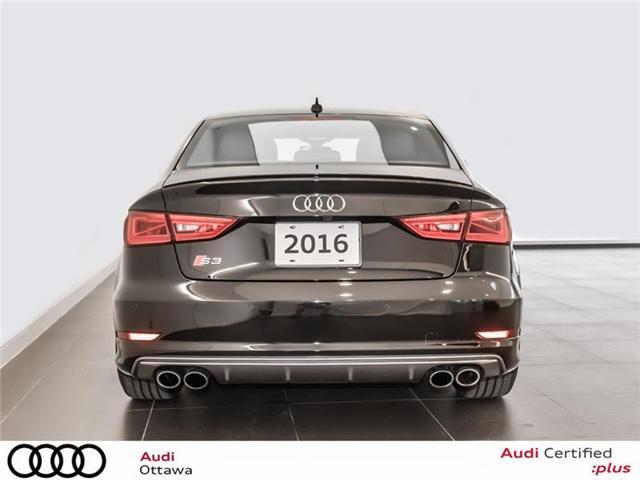 2016 Audi S3 2.0T Technik (Stk: PA465) in Ottawa - Image 4 of 22