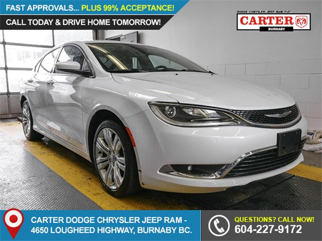 2015 Chrysler 200 Limited (Stk: X-5937-1) in Burnaby - Image 1 of 22