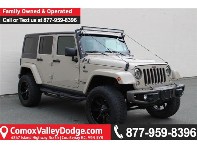 2016 Jeep Wrangler Unlimited Sahara (Stk: S290431A) in Courtenay - Image 1 of 30