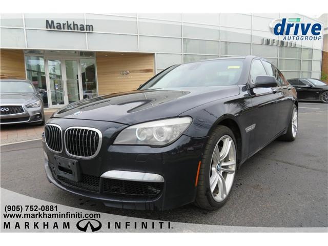 2010 BMW 750i xDrive (Stk: P2557B) in Markham - Image 1 of 28