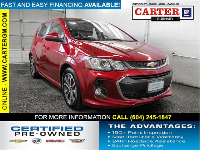 2017 Chevrolet Sonic LT Auto (Stk: T8-46321) in Burnaby - Image 1 of 23