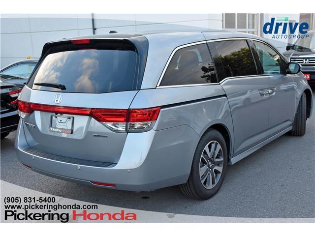 2017 Honda Odyssey Touring (Stk: S552) in Pickering - Image 6 of 30
