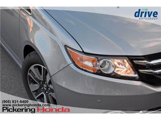 2017 Honda Odyssey Touring (Stk: S552) in Pickering - Image 9 of 30