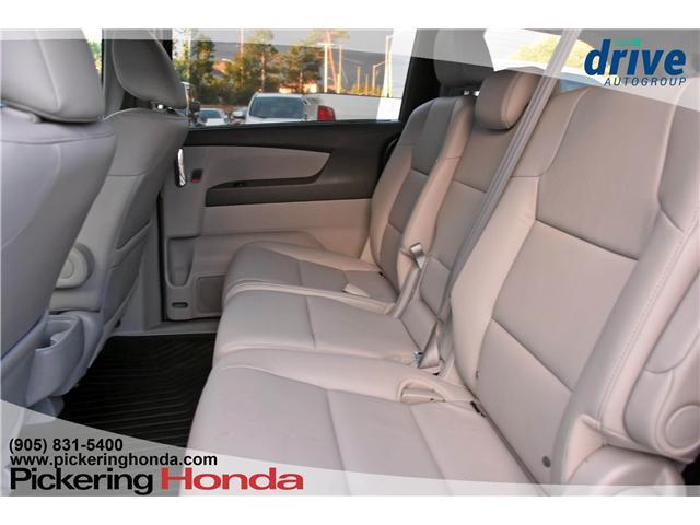 2017 Honda Odyssey Touring (Stk: S552) in Pickering - Image 11 of 30