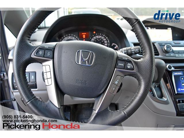 2017 Honda Odyssey Touring (Stk: S552) in Pickering - Image 22 of 30