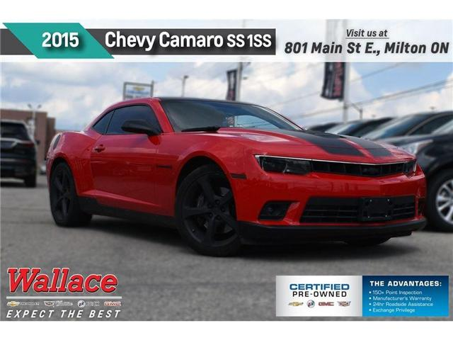 2015 Chevrolet Camaro SS 1SS/426hp/RS PACK/20s/PRFRMNC EXHST/6SPD (Stk: 127558B) in Milton - Image 1 of 19
