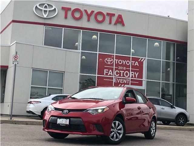2016 Toyota Corolla LE (Stk: P2153) in Bowmanville - Image 1 of 17