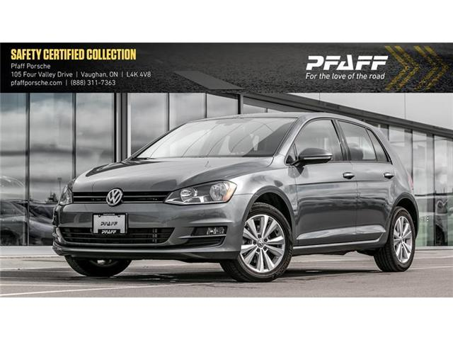2017 Volkswagen Golf 5-Dr 1.8T Comfortline 6sp at w/Tip (Stk: P12720AA) in Vaughan - Image 1 of 19