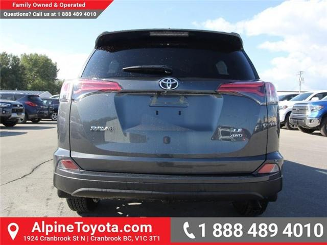 2018 Toyota RAV4 LE (Stk: W824922) in Cranbrook - Image 4 of 18