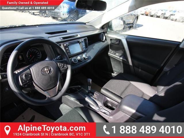2018 Toyota RAV4 LE (Stk: W824922) in Cranbrook - Image 9 of 18