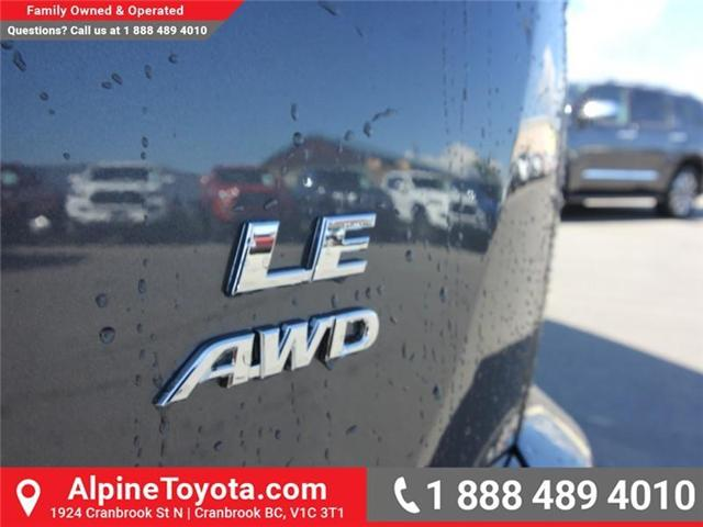 2018 Toyota RAV4 LE (Stk: W824922) in Cranbrook - Image 17 of 18