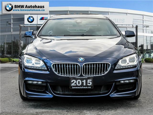 2015 BMW 650 Gran Coupe  (Stk: P8495) in Thornhill - Image 2 of 26