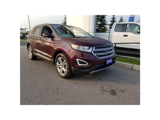 2018 Ford Edge Titanium (Stk: P8186) in Unionville - Image 1 of 22