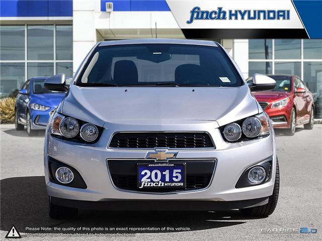2015 Chevrolet Sonic LT Auto (Stk: 84427) in London - Image 2 of 27
