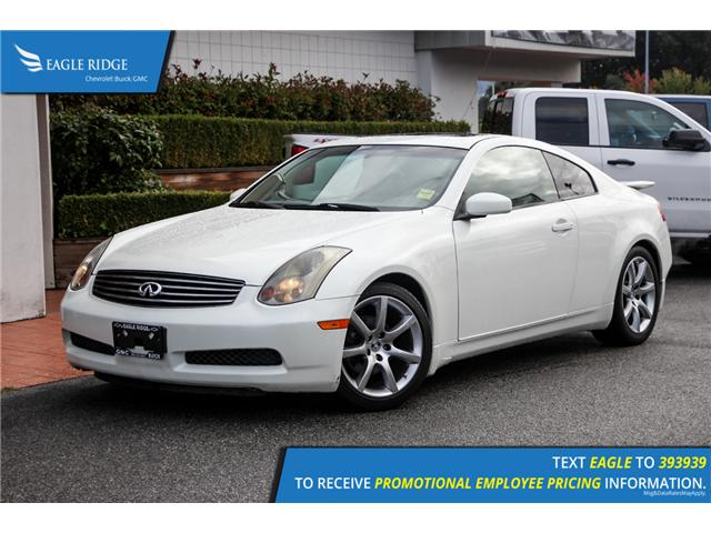2004 Infiniti G35 Base (Stk: 049280) in Coquitlam - Image 1 of 15