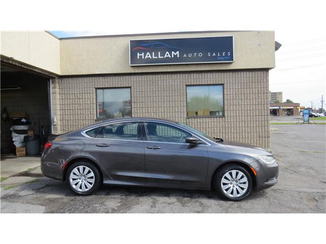 2015 Chrysler 200 LX (Stk: ) in Kingston - Image 2 of 16