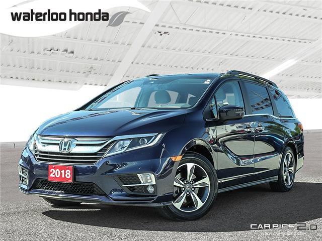 2018 Honda Odyssey EX-L (Stk: H4344A) in Waterloo - Image 1 of 27