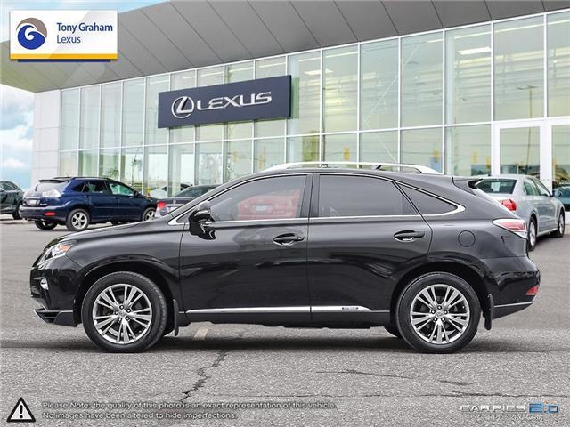 2014 Lexus RX 450h Base (Stk: T1531A) in Ottawa - Image 3 of 27