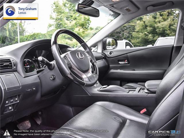 2014 Lexus RX 450h Base (Stk: T1531A) in Ottawa - Image 13 of 27