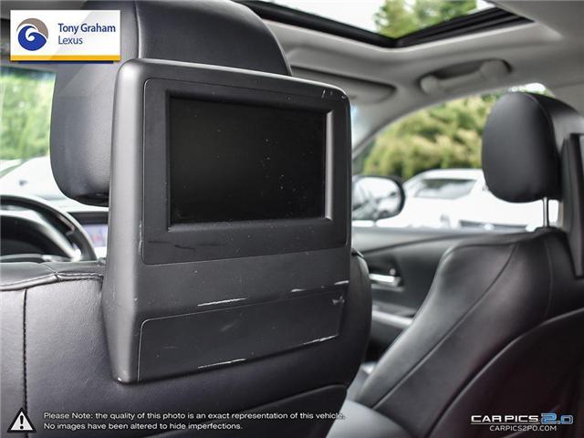 2014 Lexus RX 450h Base (Stk: T1531A) in Ottawa - Image 24 of 27