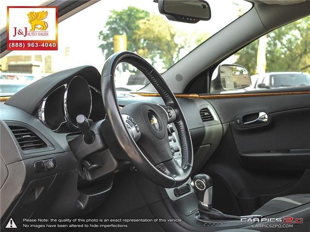 2011 Chevrolet Malibu LT Platinum Edition (Stk: J18089) in Brandon - Image 13 of 27