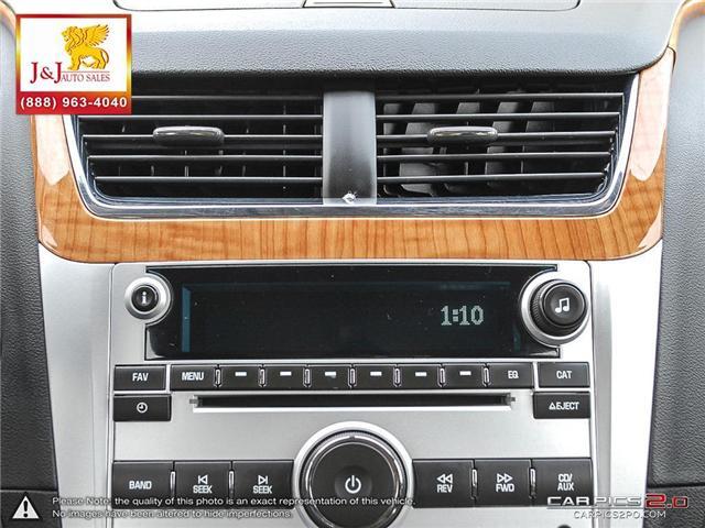 2011 Chevrolet Malibu LT Platinum Edition (Stk: J18089) in Brandon - Image 21 of 27