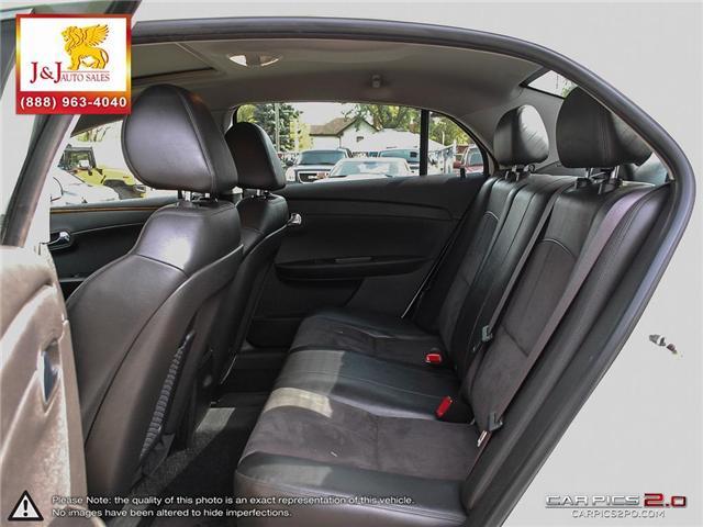 2011 Chevrolet Malibu LT Platinum Edition (Stk: J18089) in Brandon - Image 24 of 27