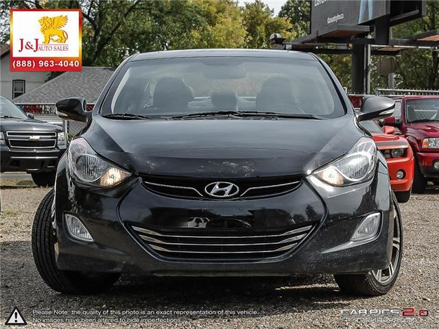 2013 Hyundai Elantra Limited (Stk: J18065) in Brandon - Image 2 of 24