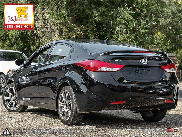 2013 Hyundai Elantra Limited (Stk: J18065) in Brandon - Image 4 of 24