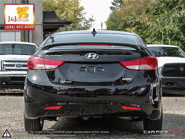 2013 Hyundai Elantra Limited (Stk: J18065) in Brandon - Image 5 of 24