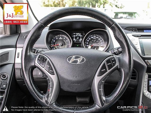 2013 Hyundai Elantra Limited (Stk: J18065) in Brandon - Image 13 of 24