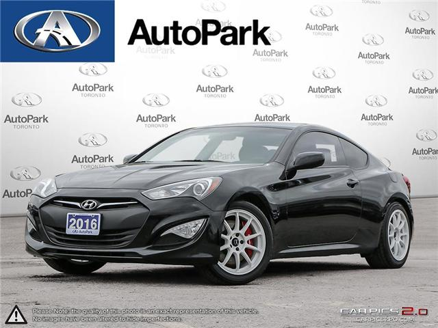 2016 Hyundai Genesis Coupe 3.8 R-Spec (Stk: 16-35540SR) in Toronto - Image 1 of 26