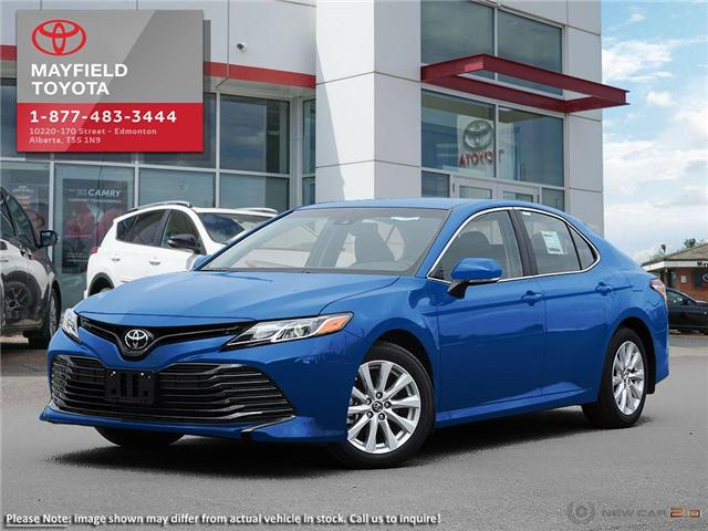 2018 Toyota Camry LE (Stk: 1862453) in Edmonton - Image 1 of 23