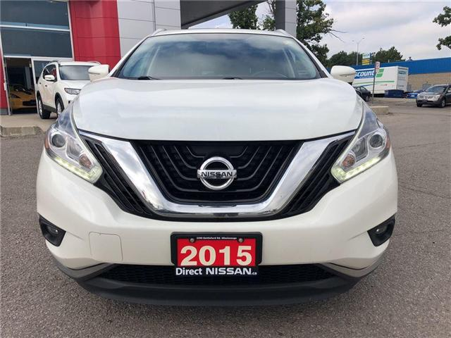 2015 Nissan Murano SL | FULLY LOADED | CLEAN (Stk: N3074A) in Mississauga - Image 3 of 23