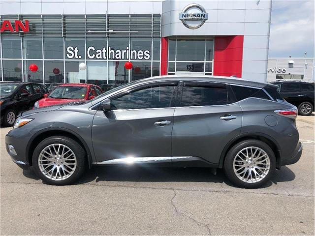 2017 Nissan Murano Platinum (Stk: P-2080) in St. Catharines - Image 2 of 21