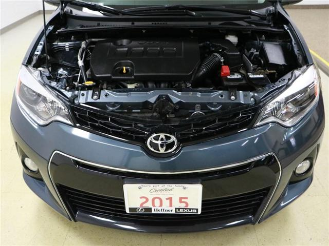 2015 Toyota Corolla S (Stk: 186036) in Kitchener - Image 20 of 21