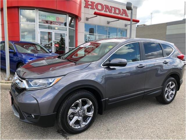2018 Honda CR-V EX (Stk: J9094) in Georgetown - Image 1 of 10